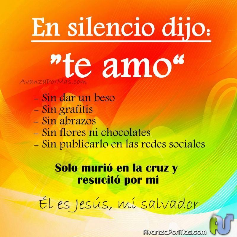 IMAGEN En silencio dijo: te amo