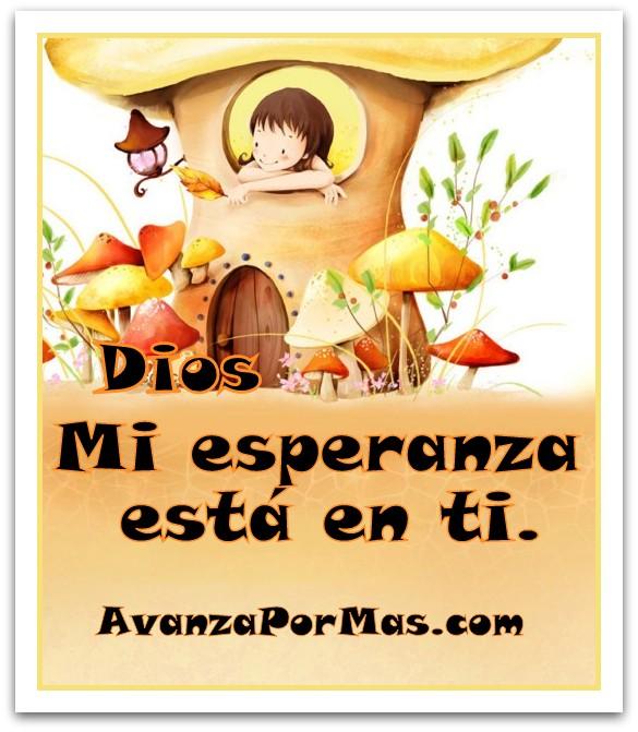 Imagen Dios Mi Esperanza Esta En Ti Imágenes