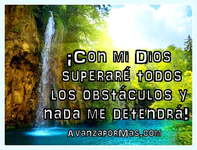 Imagen Quot Con Mi Dios Superar 201 Todos Los Obst 193 Culos Y Nada