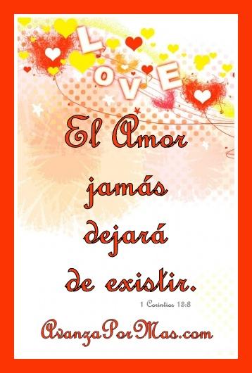Postal El Amor Jamás Dejará De Existir Imágenes