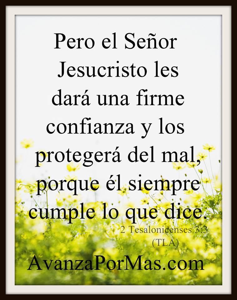 Postal Pero El Señor Jesucristo Les Darà Una Firme