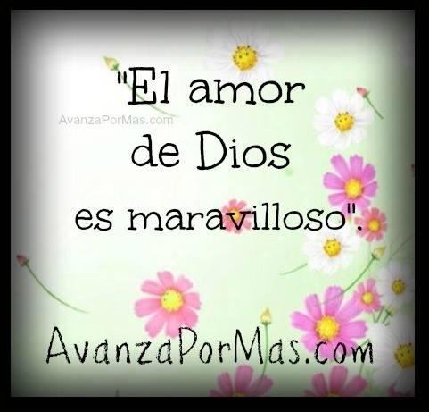 Postal El Amor De Dios Es Maravilloso Imágenes Cristianas